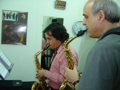 clases saxofón Madrid