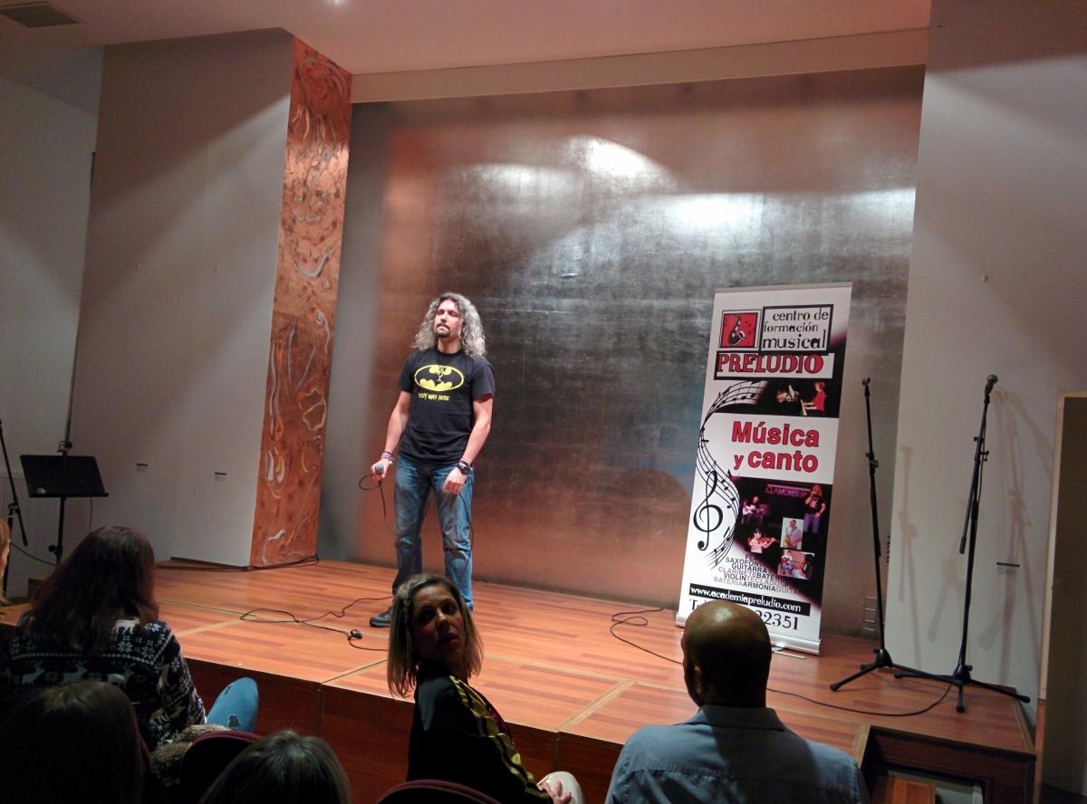 Escuela de canto en Madrid