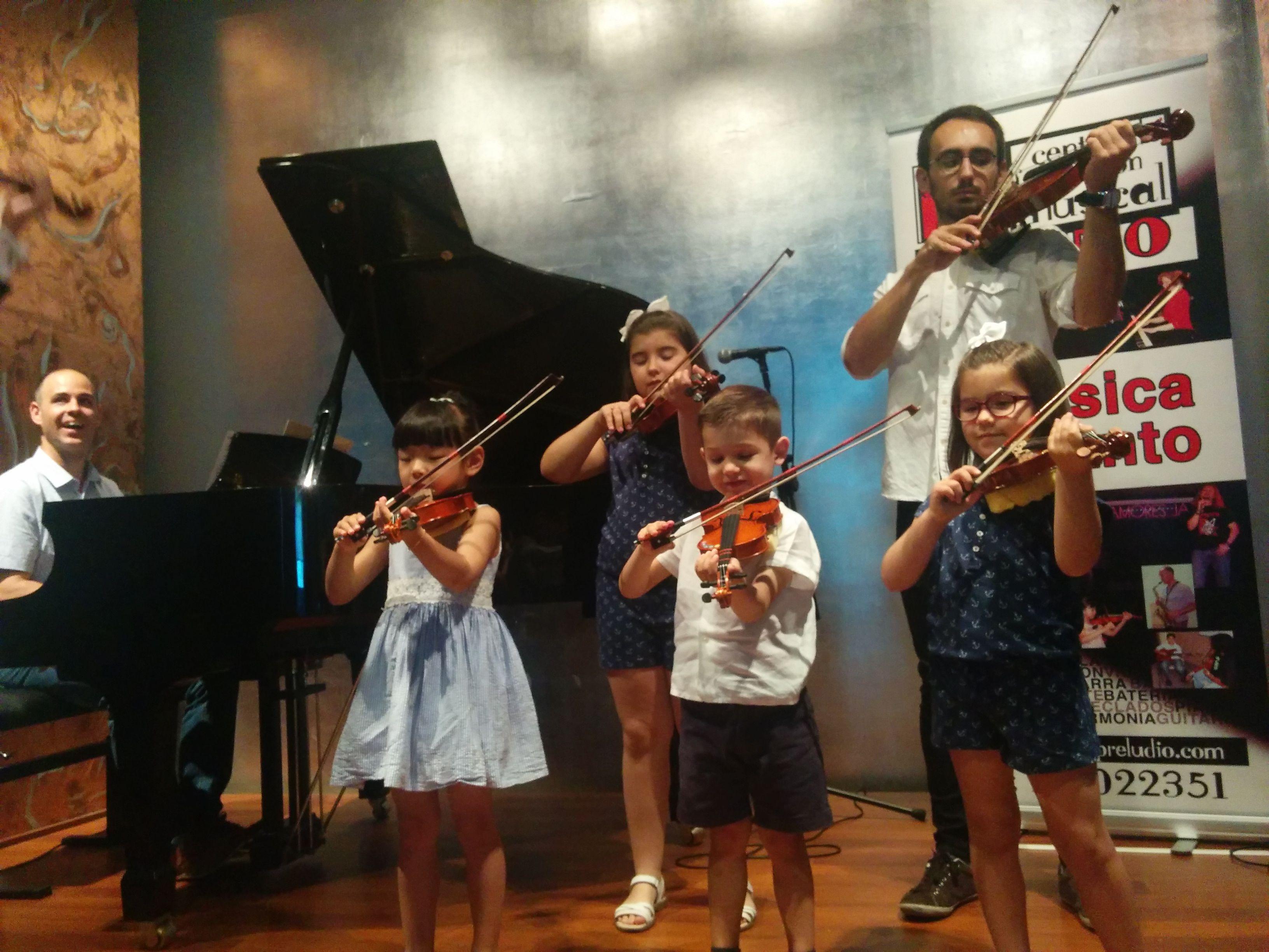 Aprender violín en Madrid